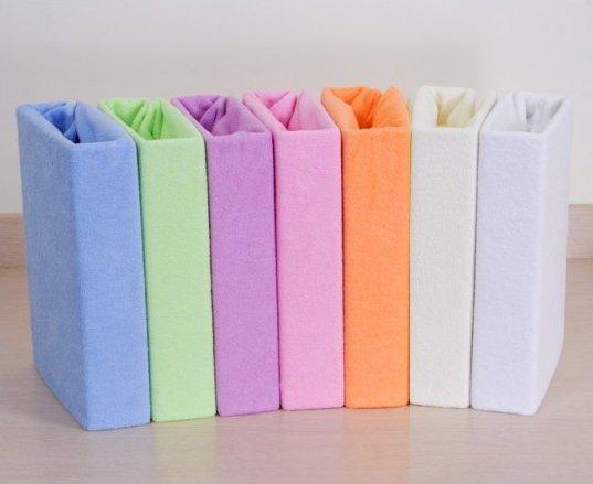 Froté posteľné plachty