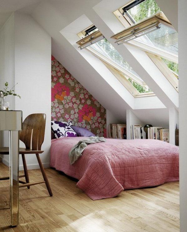 Malá spálňa inšpirácia 12