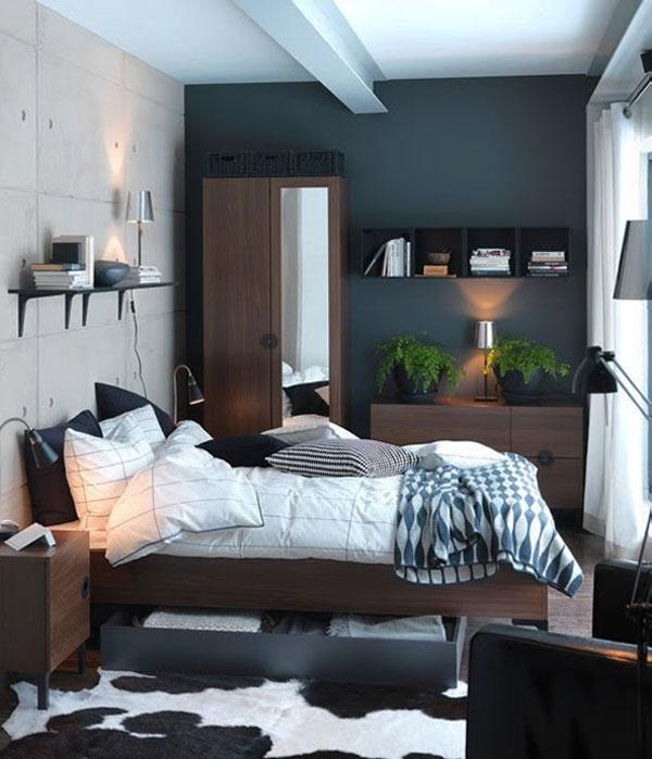 Malá spálňa inšpirácia 15