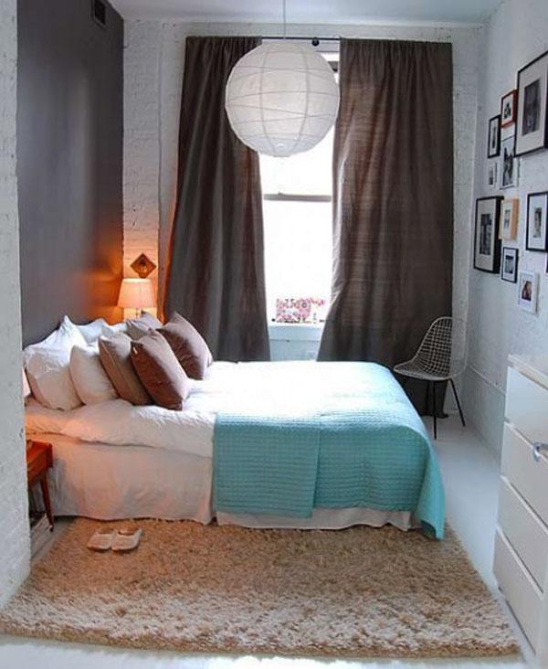 Malá spálňa inšpirácia 6