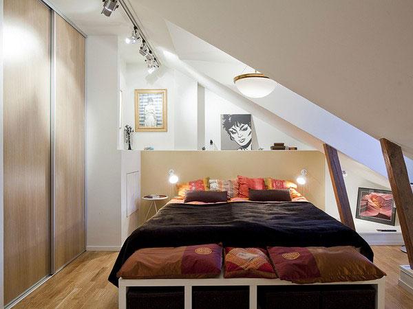 Malá spálňa inšpirácia 7