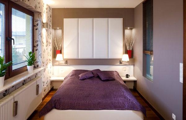 Malá spálňa inšpirácia 8