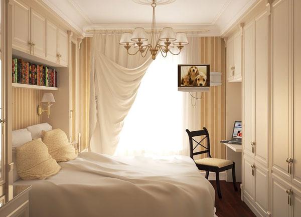 Malá spálňa inšpirácia 10