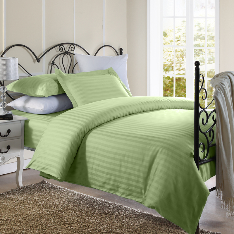 damaškové obliečky zelené
