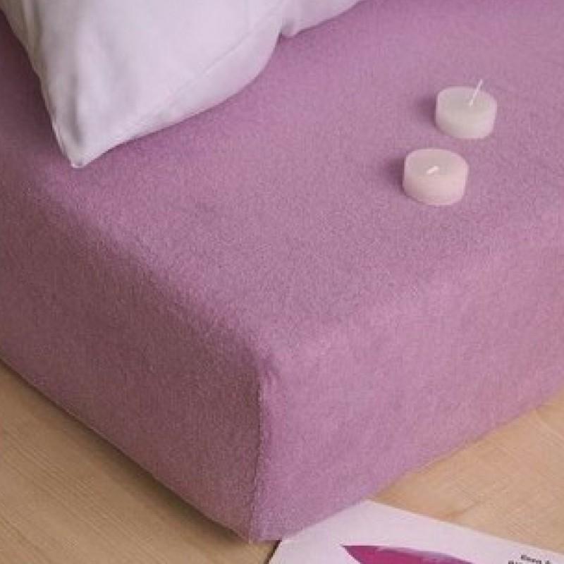 fialova plachta na postel