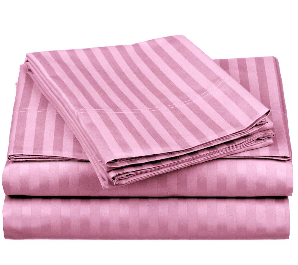 damaškové obliečky ružové