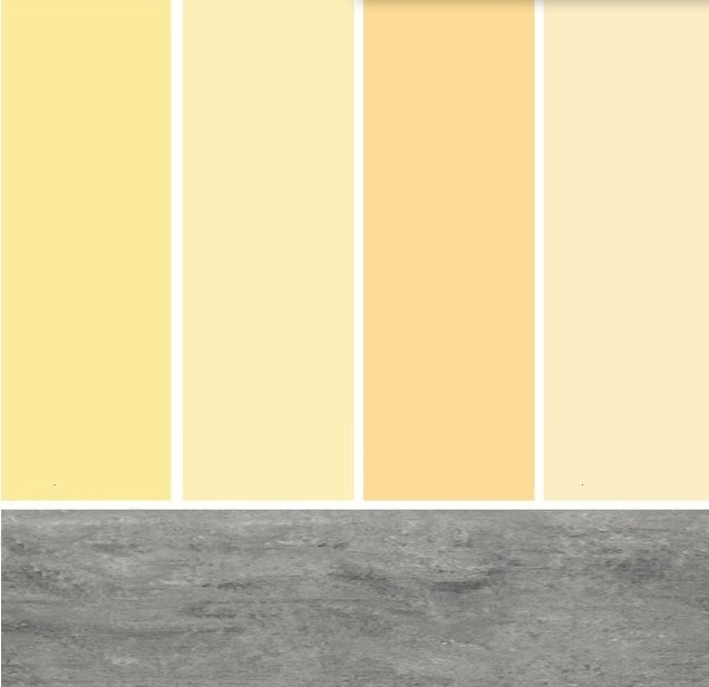 Žltá paleta